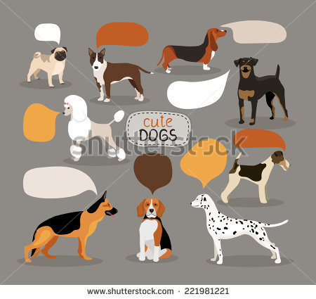 Beagle clipart vector. Bloodhound pencil and in