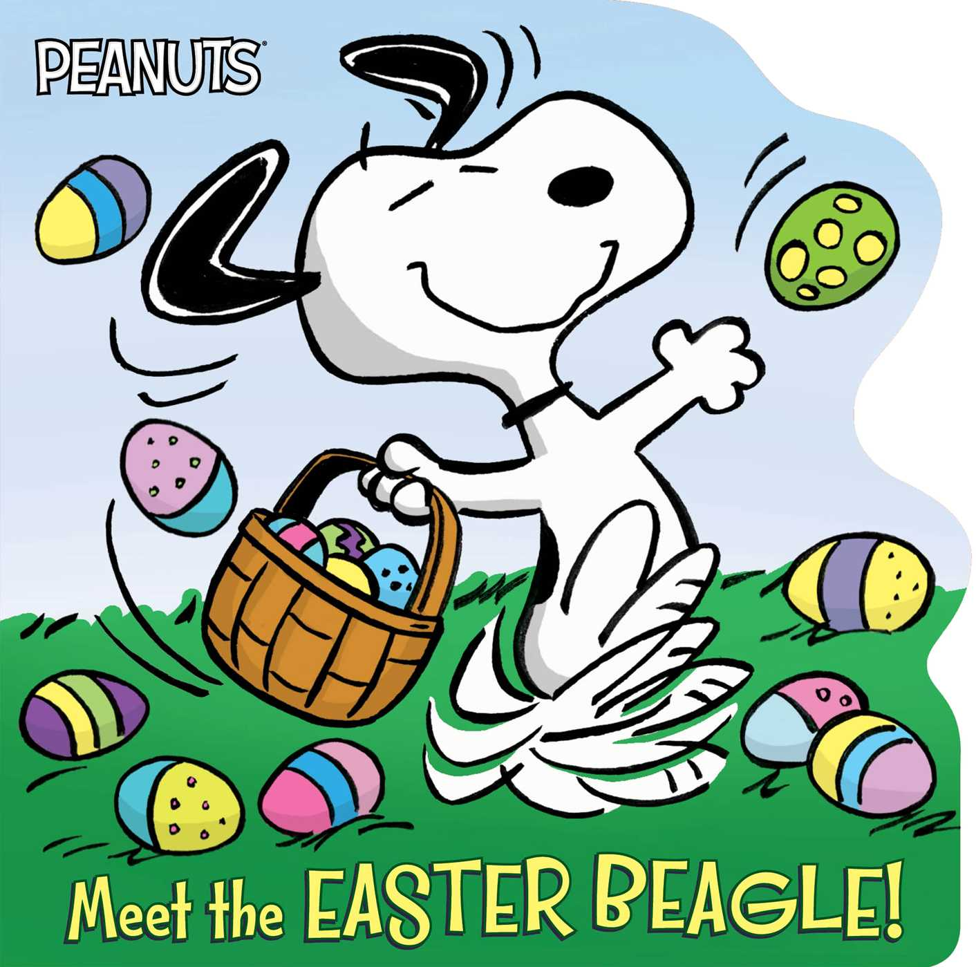 Beagle clipart worried. Meet the easter book