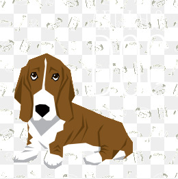Png vectors psd and. Beagle clipart worried