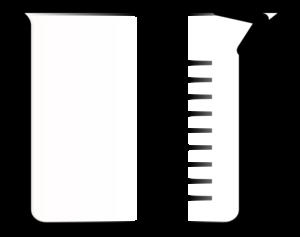 Clip art at clker. Beaker clipart 1 liter