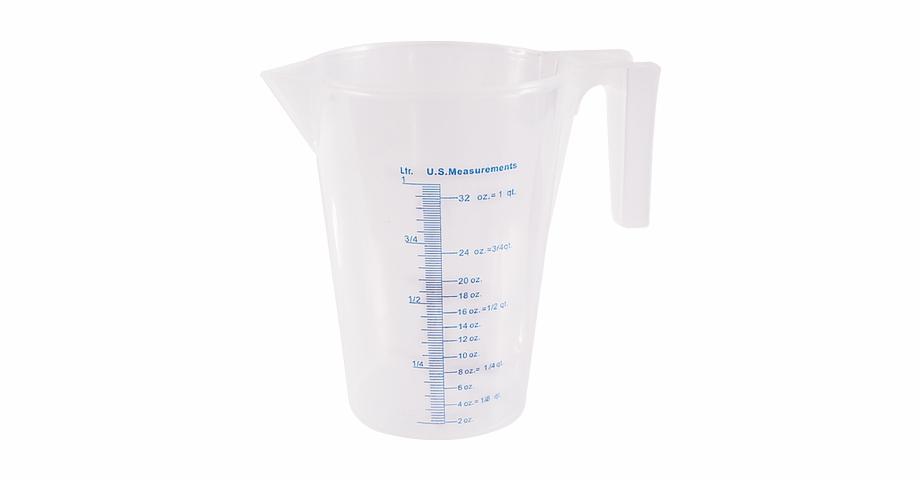 Marsh funnel measuring cup. Beaker clipart 1 liter