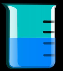 Beaker clipart 1 liter. Dark clip art at