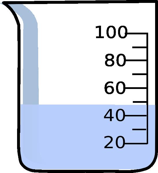 Beaker clipart 1 liter. With liquid clip art