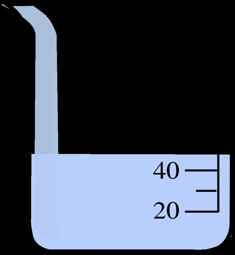 Beaker clipart 1 liter. Becherglas station