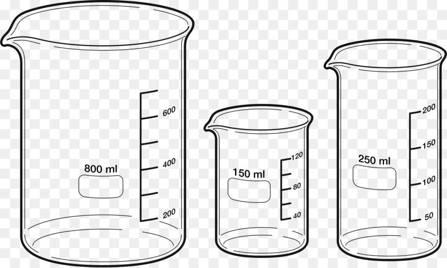 Beaker clipart 100 ml. Cartoon cup glass transparent