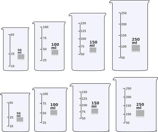 Beaker clipart 250 ml. Becherglaeser design droide becherglaeserbeaker