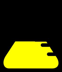 Clip art vector online. Beaker clipart