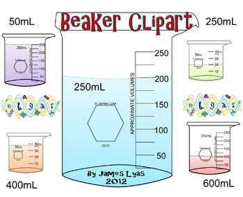 Beaker clipart 50 ml. Lab equipment clip art