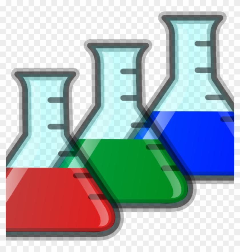 Science clip art colored. Beaker clipart banner