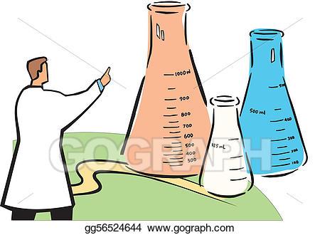 Beaker clipart beeker. Stock illustrations science experiment