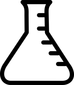 Beaker clipart black and white. Panda free images beakerclipart
