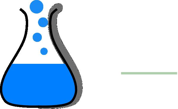 Chemistry panda free images. Beaker clipart bubble