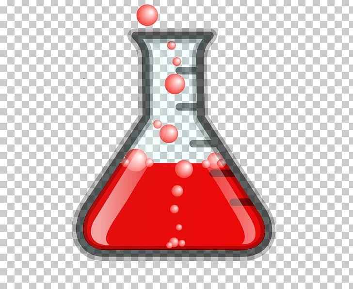 Laboratory flasks erlenmeyer flask. Beaker clipart bubble