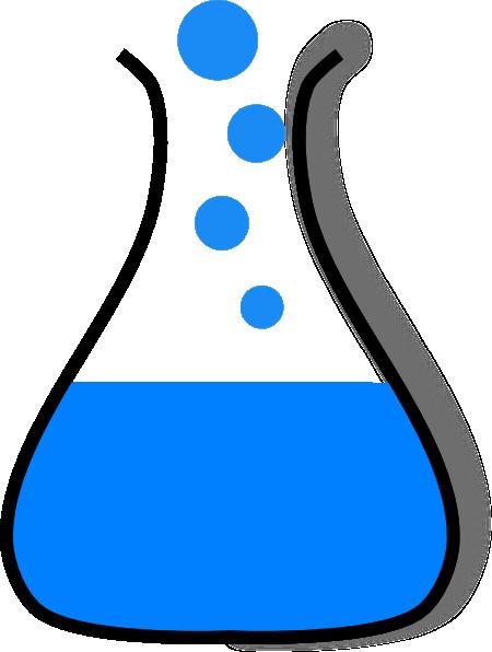 . Beaker clipart chemistry