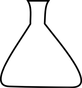 Blank erlenmeyer clip art. Beaker clipart conical flask