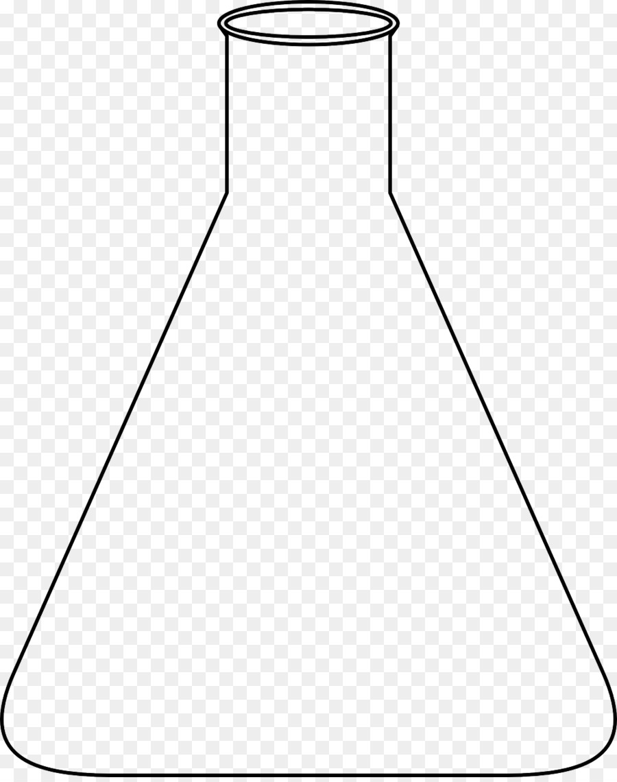 Cartoon chemistry rectangle . Beaker clipart conical flask