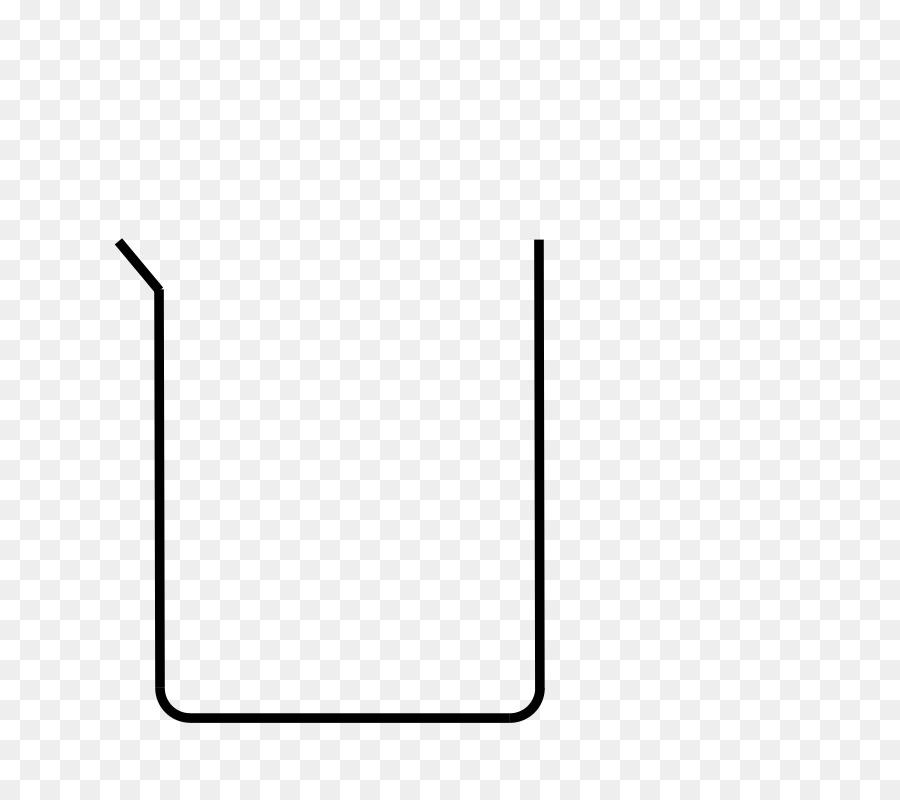 Cartoon drawing . Beaker clipart diagram