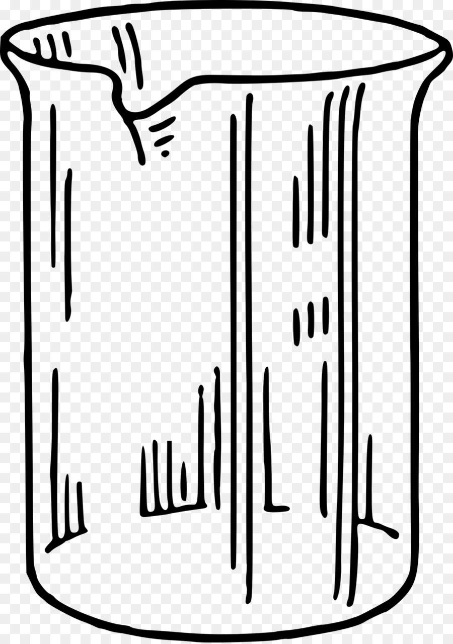 Cartoon drawing chemistry . Beaker clipart draw