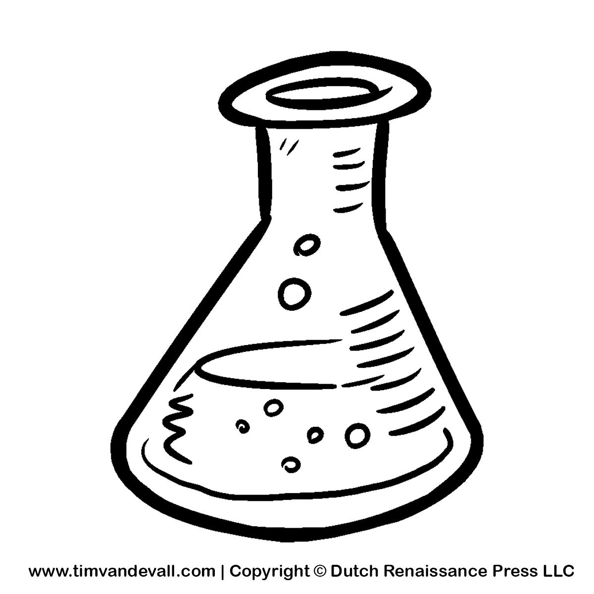 Beaker clipart draw. Science drawing at getdrawings