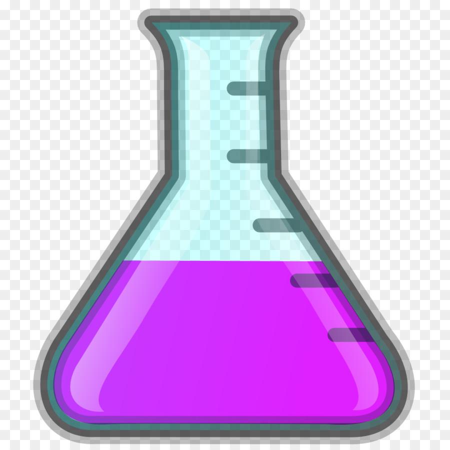 Beaker clipart flask. Cartoon chemistry bottle