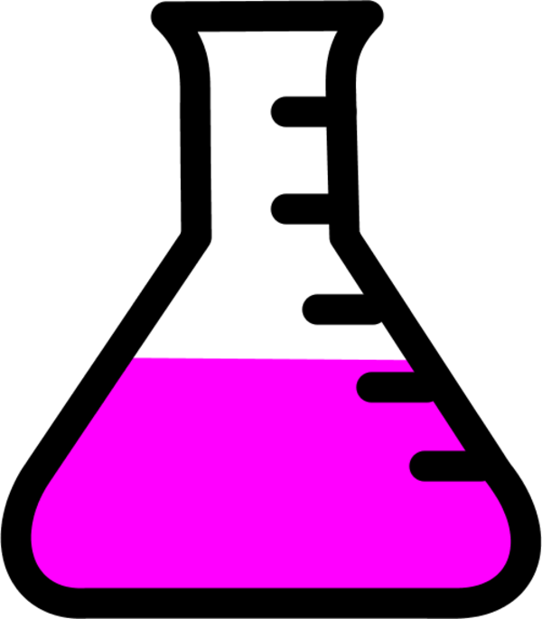 Free pink beaker cliparts. Goggles clipart science lab
