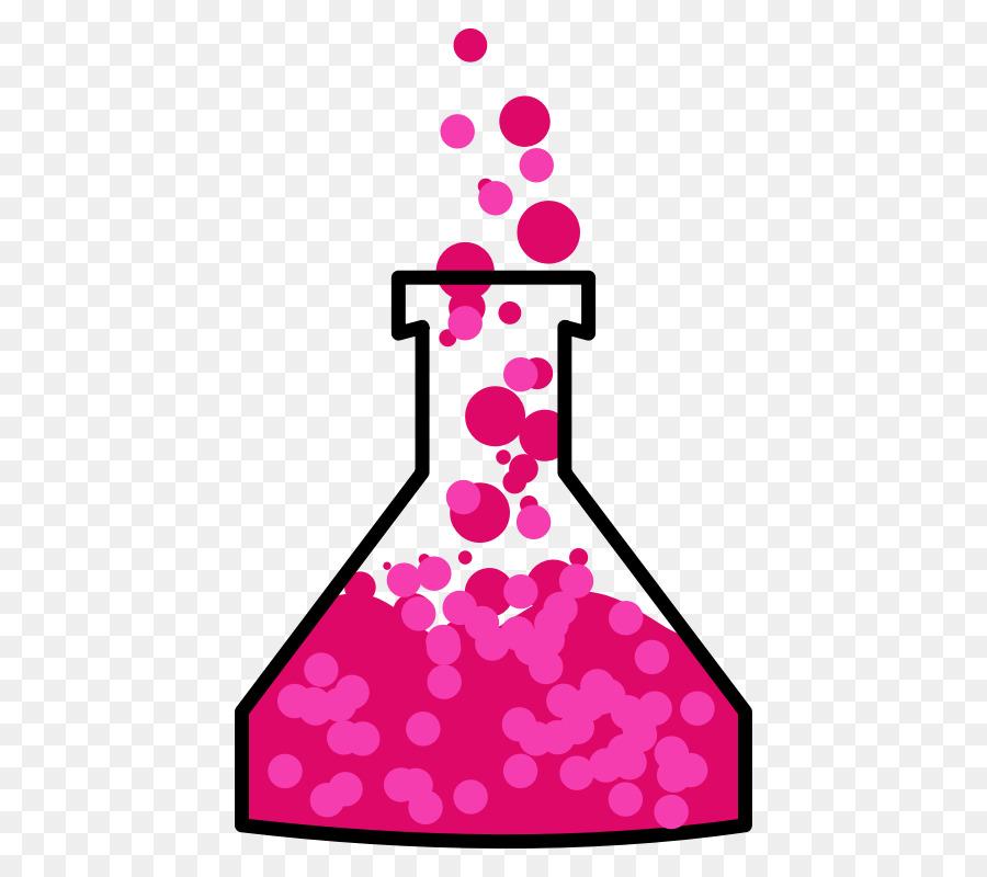 Alchemy potion clip art. Beaker clipart pink