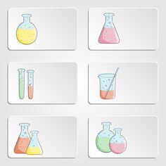 Beaker clipart printable. School beakers empty full