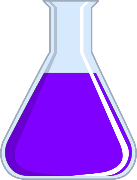 Beaker clipart purple. Chemistry flash clip art