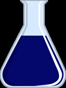Lab blue clip art. Beaker clipart purple