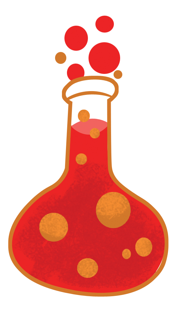 Beaker clipart red. Sonspark labs