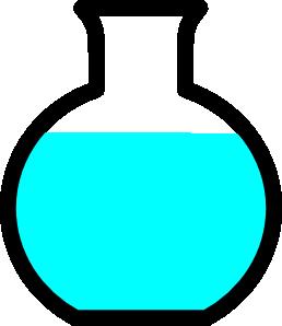 Beaker clipart round. Flask clip art at