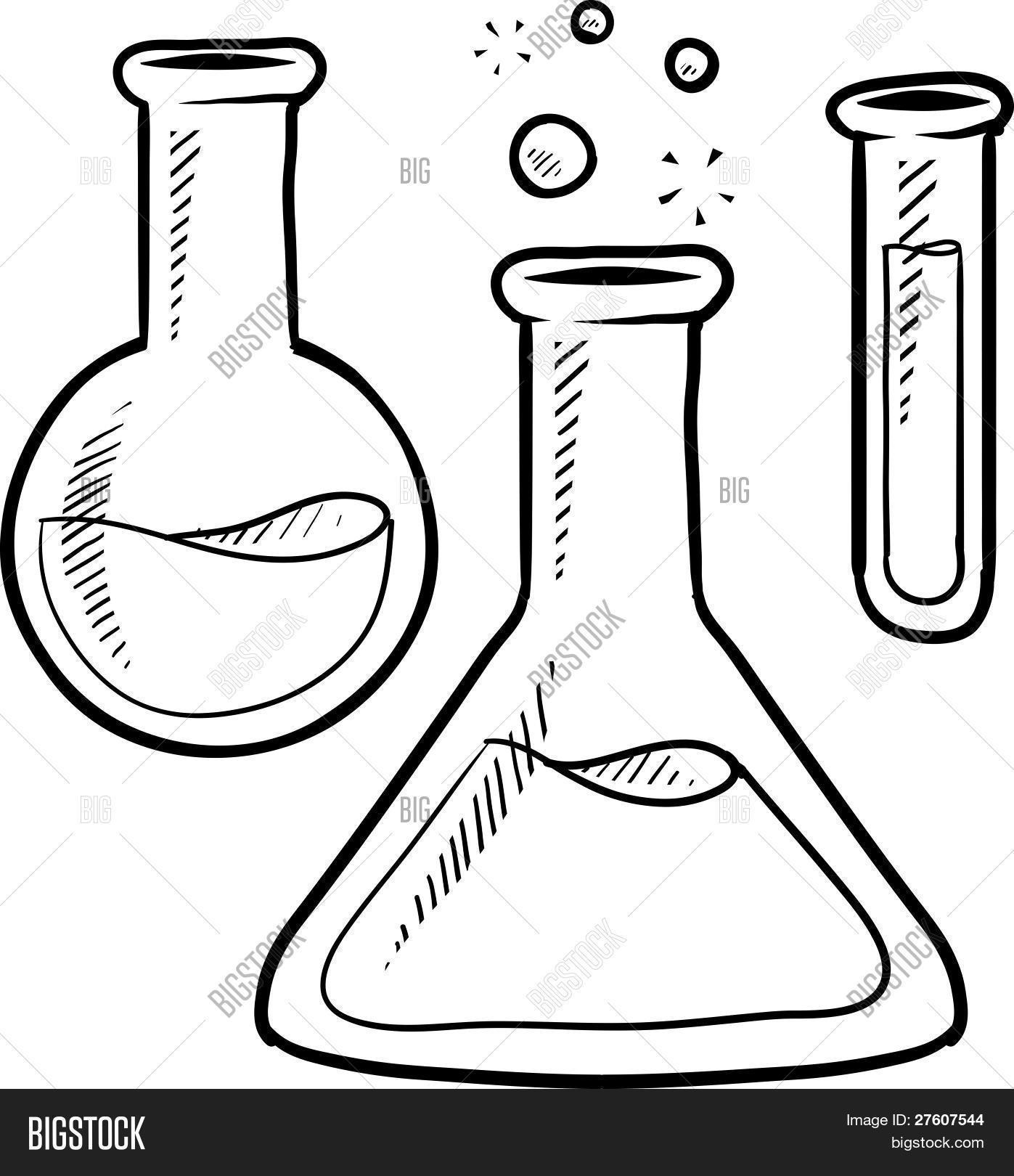 Beaker clipart science tool. Drawing at getdrawings com