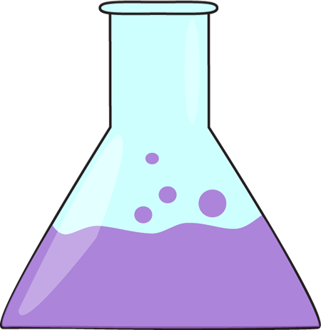 Bubbling science clip art. Beaker clipart scientist beaker