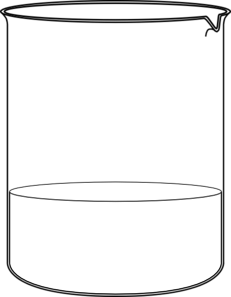 Clip art at clker. Beaker clipart small beaker