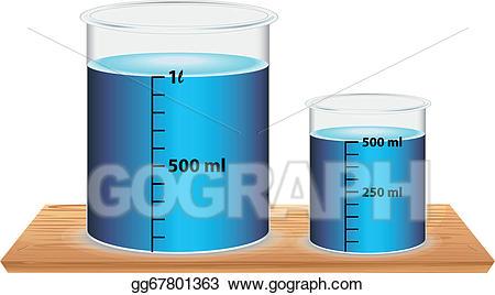 Beaker clipart small beaker. Vector stock a and