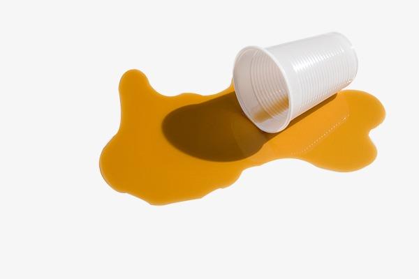 Beaker clipart spilled. Drinks on the ground