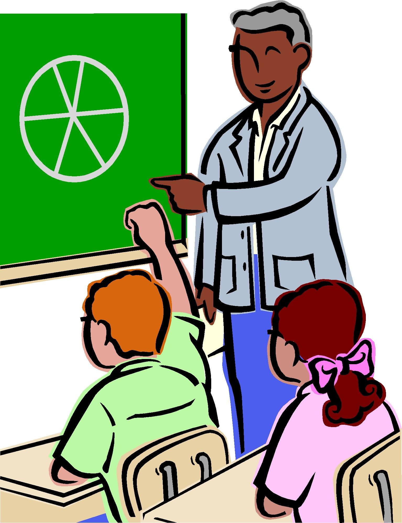 Beaker clipart teacher. Speaking to class clip