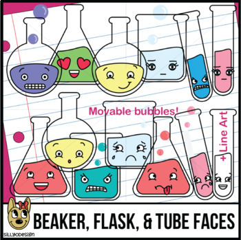 Beaker clipart teacher. Flask test tube faces