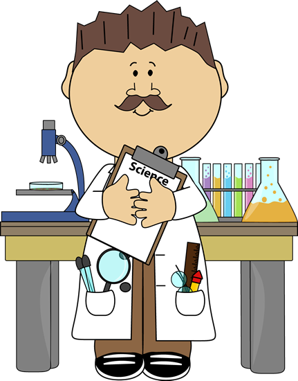 Science clip art pinterest. Announcements clipart teacher