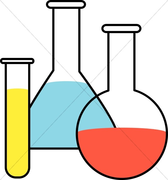 Beaker clipart test tube. Flasks and tubes christian