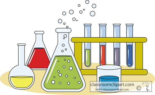 Chemical clipart cute. Chemistry test tubes and
