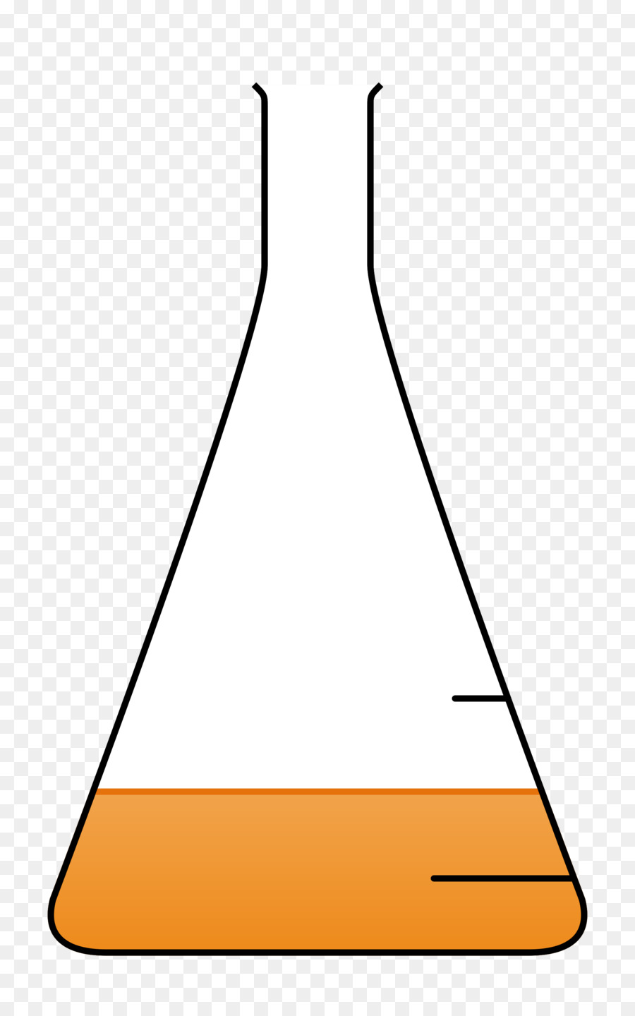 Beaker clipart triangular. Cartoon glass triangle