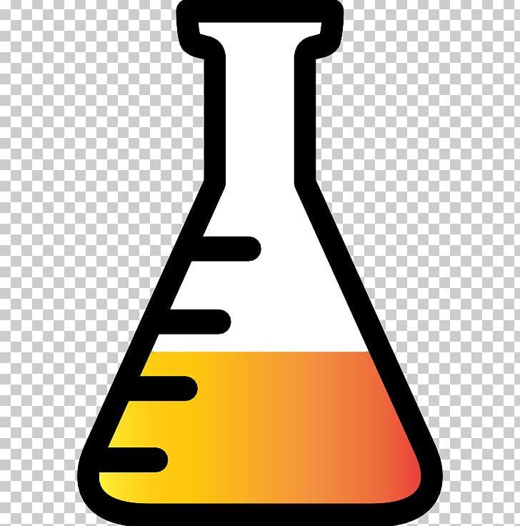 Laboratory flasks erlenmeyer round. Beaker clipart volumetric flask