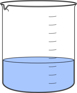 Beaker clipart water clipart. Lab clip art at