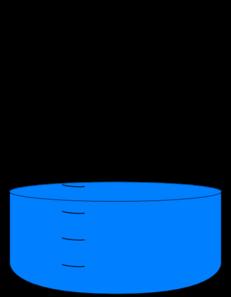 Beaker clipart water clipart. Clip art at clker