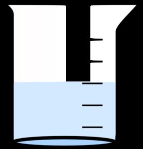 beaker clipart water clipart
