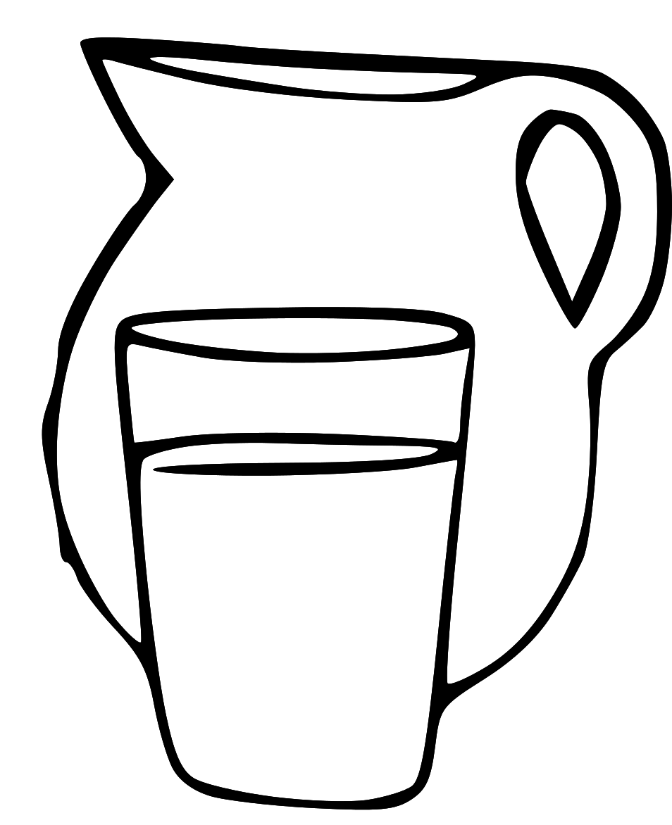 Glass of at getdrawings. Beaker clipart water drawing