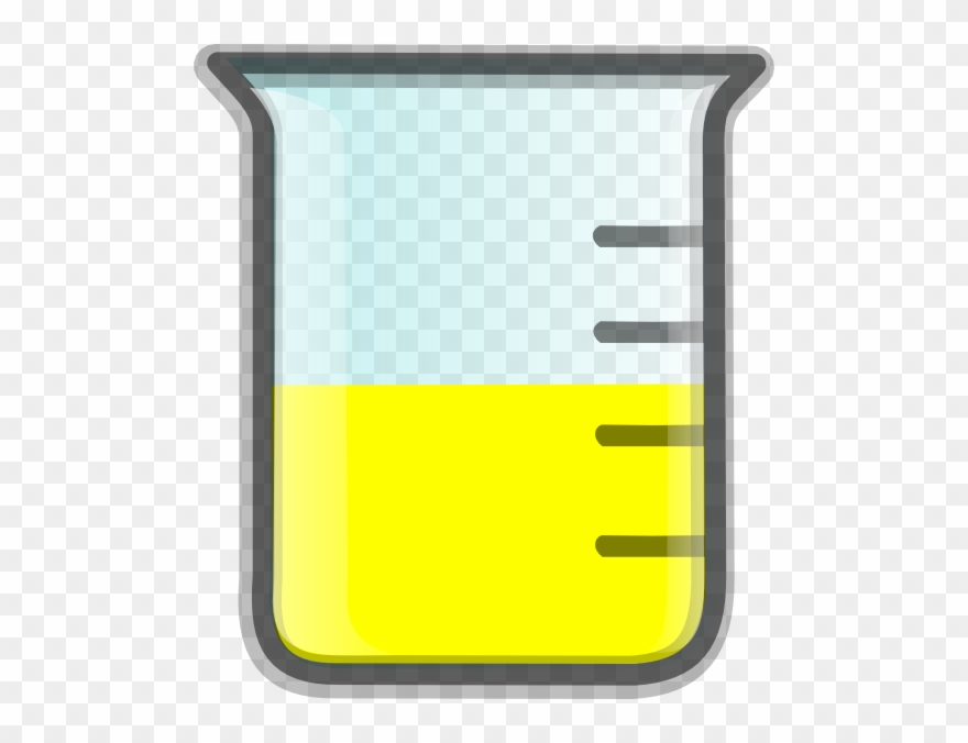 Beaker clipart yellow. Water cliparts with liquid