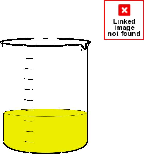 Beaker clipart yellow. Clip art at clker