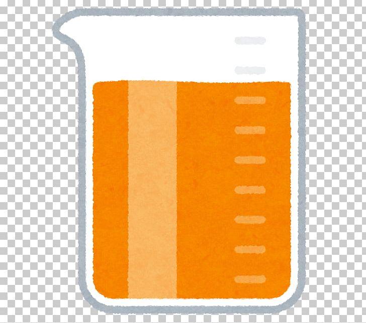 Liquid color png . Beaker clipart yellow